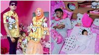 Potret Kalau Cowok Menikahi Fans Hello Kitty Garis Keras, Meriah Abis (sumber:Instagram: kakakhellokitty)