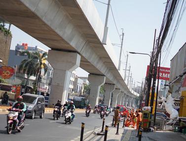 Hari Kedua Perluasan Ganjil Genap, Lalin di Jalan Fatmawati Raya Ramai Lancar