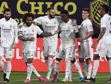 FOTO: Petik Poin Penuh di Kandang Cadiz, Real Madrid Kembali Pimpin Klasemen Liga Spanyol