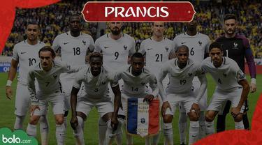 Berita Video Profil Tim Piala Dunia 2018, Prancis