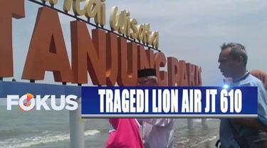 Pesawat Lion Air JT 610 rute Jakarta-Pangkal Pinang jatuh di perairan Karawang pada 29 Oktober lalu.