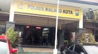 Kepolisian di Kota Malang menyebut tren kejahatan di kota itu cenderung turun selama pandemi Corona Covid-19 (Liputan6.com/Zainul Arifin)