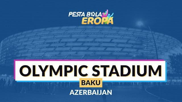 Berita video profil Baku Olympic Stadium, stadion terbesar di Azerbaijan.