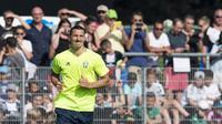 Penyerang timnas Swedia, Zlatan Ibrahimovic, akan menjadi pemain yang paling diwaspadai bek-bek lawan di Piala Eropa 2016. (JONATHAN NACKSTRAND / AFP)