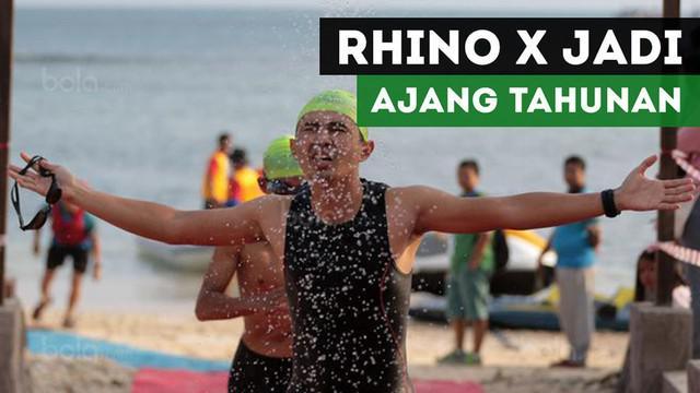 Chairman of Organizing Comitte (OC) Rhino X Triathlon, Rully Lasahido, memastikan gelaran ini akan jadi ajang tahunan di Tanjung Lesung.