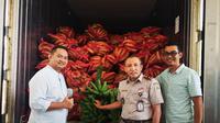 Pisang hasil panen di tanah Indonesia paling dicari oleh dua negara tetangga.