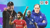 Premier League - Liverpool Vs Chelsea - Duel Pelatih dan Pemain (Bola.com/Adreanus Titus)