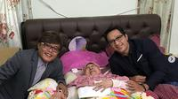 Andre Taulany dan Sule mengunjungi Aminah Cendrakasih (Instagram/@andretaulany)