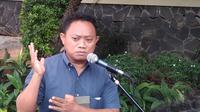 Djunaidi, ayah Mahesa Junaidi (13) yang menjadi korban sembako maut di Monas, Jakarta. (Merdeka.com)
