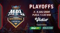 MPL Invitational 4 Nation Cup babak playoff. (Sumber: Vidio)