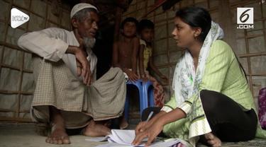 Seorang gadis pengungsi Rohingya bernimpi suatu satat dirinya bisa menjadi tokoh yang berpengaruh di dunia.