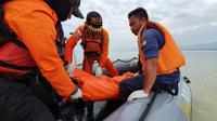 Akhir pencarian Rizki, bocah 12 tahun yang tenggelam di Sungai Palu (Heri Susanto/Liputan6.com)