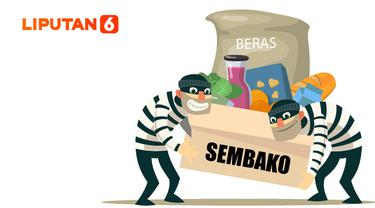 Ilustrasi Korupsi Bansos (Liputan6.com / Abdillah)