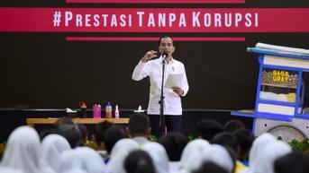 Lewat Surat Terbuka, ICW Kembali Ingatkan Jokowi Soal Komitmen Pemberantasan Korupsi
