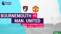 Premier League AFC Bournemouth Vs Manchester United (Bola.com/Adreanus Titus)