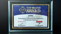 OPPO Raih Top Brand 2021 untuk Kategori Smartphone. Dok: OPPO Indonesia