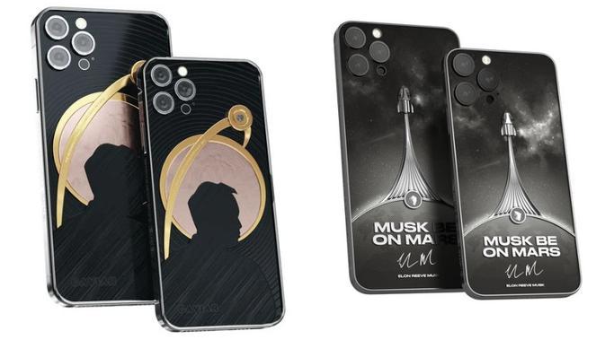 iPhone 12 Pro Max edisi Elon Musk. (Doc: Caviar)
