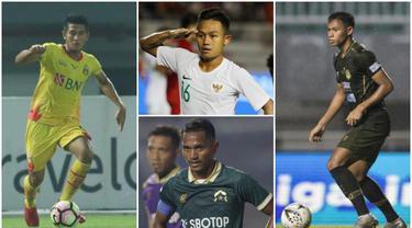 Berikut ini para pesepak bola Indonesia yang juga berstatus sebagai anggota aktif TNI-Polri. Diantaranya, Sani Rizki Fauzi dan Andy Setyo.