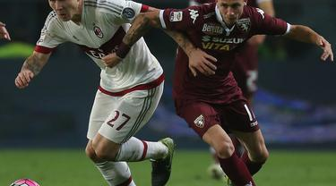 Torino vs Milan (Liputan6.com)