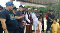 Kesaksian Warga Badui yang baru memeluk Islam. (Liputan6.com/Fadjriah Nurdiarsih)