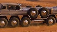 Terbuat dari kendaraan militer, mobil ini punya 10 roda (Autoevolusion)