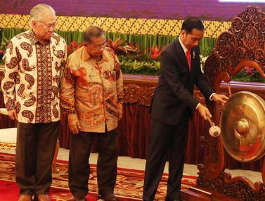 Presiden Jokowi Buka Raker Kemendag 2018 di Istana Negara