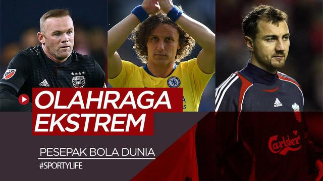 Berita video Sportylife kali ini membahas para pesepak bola dunia yang menyukai olahraga lain yang ekstrem. Siapa sajakah mereka?