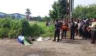 Sosok jasad laki-laki ditemukan di Kawasan Industri Kembang Kuning, Kampung Narogong, Kecamatan Klapanunggal, Kabupaten Bogor. (Istimewa)
