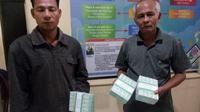 Barang bukti uang yang diduga dijadikan untuk politik uang di Kabupaten Nias, Sumatra Utara. (Liputan6.com/Reza Perdana)