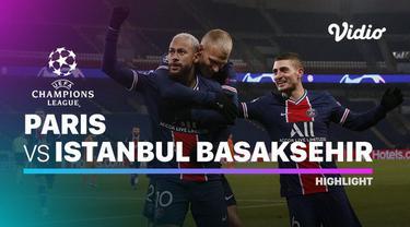 Berita video highlights liga champions, Hattrick Neymar bawa PSG kalahkan Istanbul Basaksehir dengan skor 5-1.