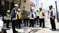 Penataan kawasan kota lama Semarang (Foto: Dok Kementerian PUPR)