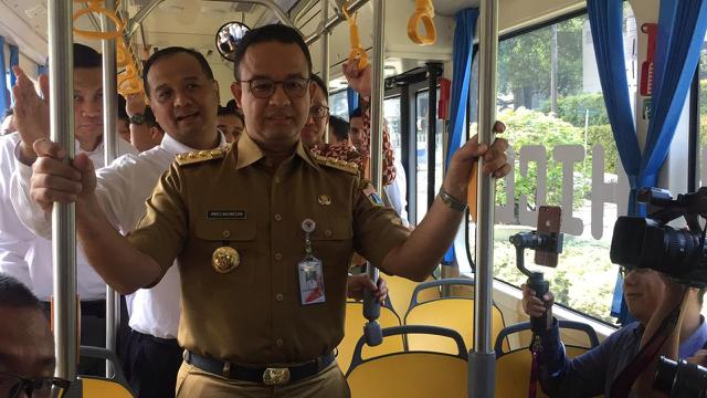 Image result for anies transjakarta