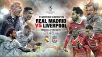 Real madrid vs Liverpool  (Liputan6.com/Abdillah)