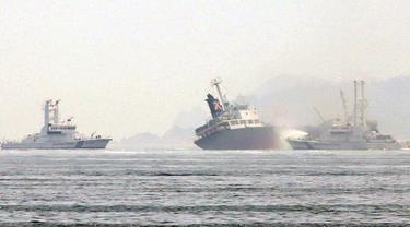 Kapal Tanker Meledak, Kapten Hilang