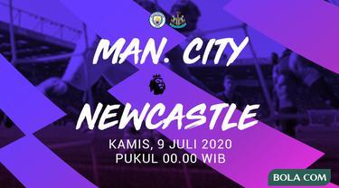 Premier League - Manchester City vs Newcastle (Bola.com/Adreanus Titus)