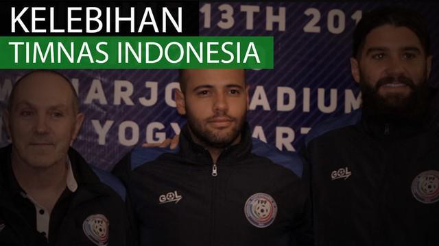 Berita video kelebihan Timnas Indonesia di mata dua pemain Puerto Rico, Cody Laurendi dan Emmanuel D'Andrea.