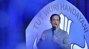 Menteri Pendidikan dan Kebudayaan Indonesia, Nadiem Makarim.
