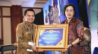 Sekretaris Jenderal MPR Ma'ruf Cahyono meraih penghargaan Opini Wajar Tanpa Pengecualian (WTP) dari Menteri Keuangan Sri Mulyani. Predikat WTP