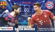 Infografis jelang duel seru Barcelona Vs Munchen di perempat final Liga Champions (Liputan6.com/Abdillah)