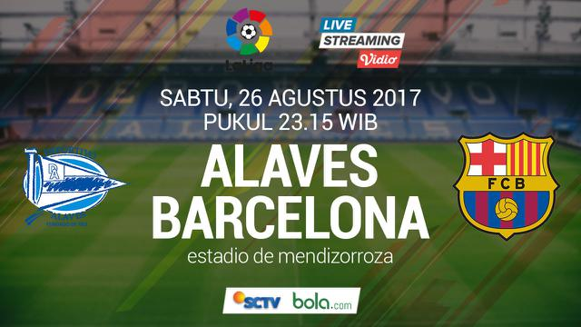 Saksikan Live Streaming Deportivo Alaves Vs Barcelona Di Bola Com