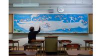 Bermodalkan Kapur, Guru Ini Bikin 6 Gambar Menarik di Papan Tulis (sumber: Brightside)
