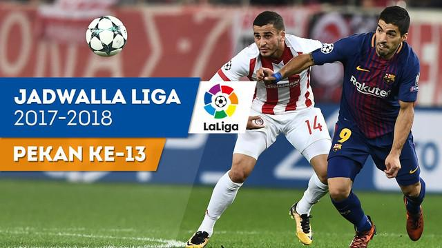 Berita video jadwal La Liga 2017-2018 pekan ke-13, ujian Barcelona melawan Valencia untuk mempertahanan rekor tak terkalahkan.