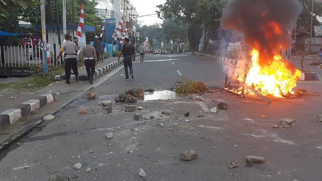 Kerusuhan Pecah di Manokwari