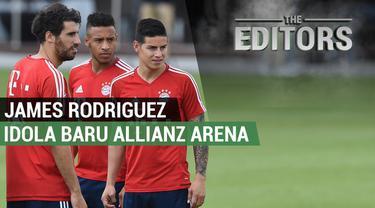 Berita video The Editors yang membahas tentang kepindahan James Rodriguez ke Bayern Munich dari Real Madrid.