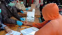 Operasi gabungan dan pelaksanaan rapid test di Kabupaten Pangandaran dan Bandung Barat. (sumber foto : Humas Pemprov Jabar)