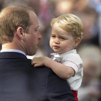 Ini cara Pangeran William didik Pangeran George. (AFP/Bintang.com)