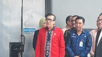 Menteri Hukum dan HAM Yasonna H Laoly meresmikan program Kampus Kehidupan di Lembaga Pemasyarakatan (Lapas) Kelas IIA Pemuda Tangerang.