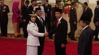Presiden Jokowi lantik Nurhajizah Jadi Wagub Sumatera Utara (Ahmad Romadoni/Liputan6.com)