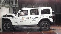 Uji tabrak Jeep Wrangler hanya 1 bintang (EURO NCAP)