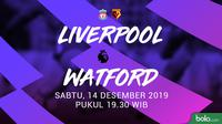 Premier League - Liverpool Vs Watford (Bola.com/Adreanus Titus)